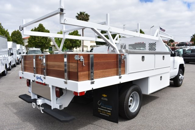 2017 Silverado 3500 Regular Cab, Harbor Combo Body #M17672 - photo 2