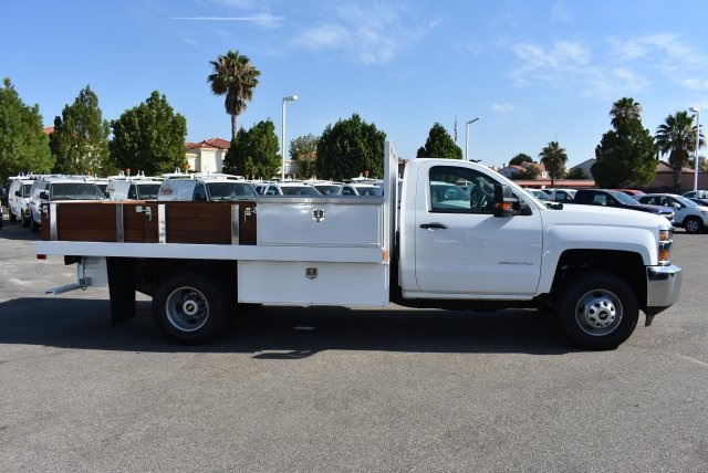 2017 Silverado 3500 Regular Cab, Harbor Flat/Stake Bed #M17677 - photo 9