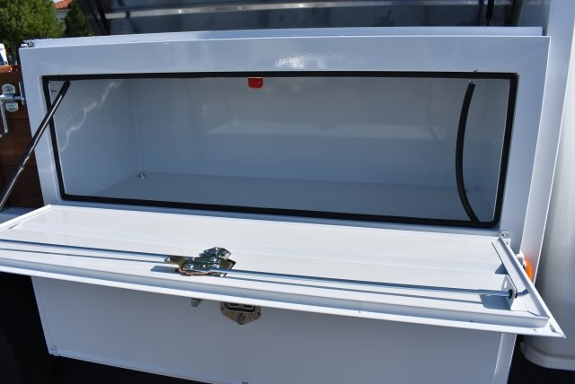 2017 Silverado 3500 Regular Cab, Harbor Flat/Stake Bed #M17677 - photo 12