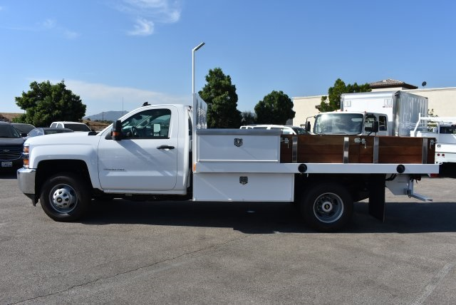 2017 Silverado 3500 Regular Cab, Harbor Flat/Stake Bed #M17677 - photo 6