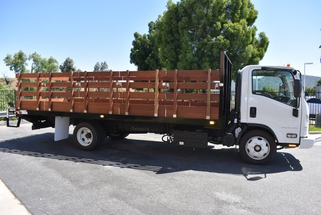 2017 Low Cab Forward Regular Cab, Flat/Stake Bed #M1768 - photo 9