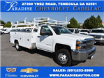 2017 Silverado 3500 Regular Cab DRW, Harbor Utility #M17680 - photo 1