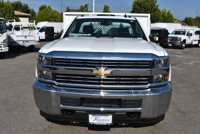 2017 Silverado 3500 Regular Cab, Harbor Black Boss Flatbed Platform Body #M17689 - photo 4