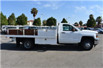 2017 Silverado 3500 Regular Cab, Harbor Black Boss Flatbed Platform Body #M17689 - photo 9