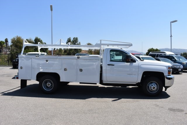 2017 Silverado 3500 Regular Cab DRW, Scelzi Utility #M17723 - photo 9
