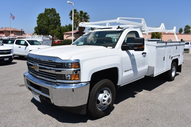 2017 Silverado 3500 Regular Cab DRW, Scelzi Utility #M17723 - photo 5