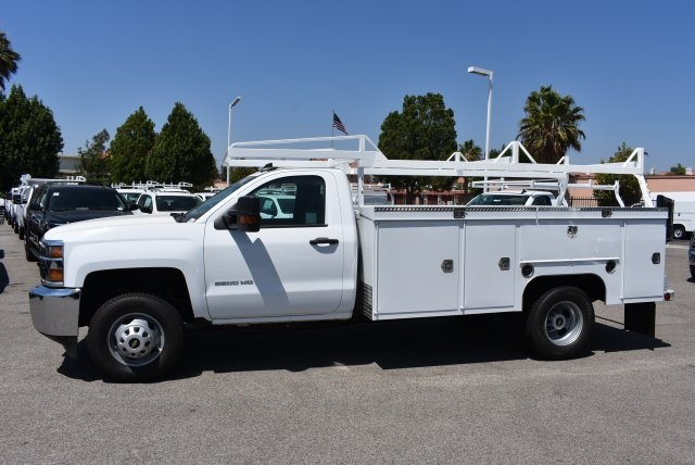 2017 Silverado 3500 Regular Cab DRW, Scelzi Utility #M17723 - photo 6