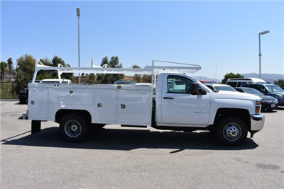 2017 Silverado 3500 Regular Cab DRW, Scelzi Signature Service Utility #M17723 - photo 9
