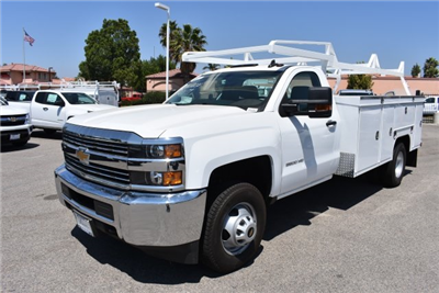2017 Silverado 3500 Regular Cab DRW, Scelzi Signature Service Utility #M17723 - photo 5