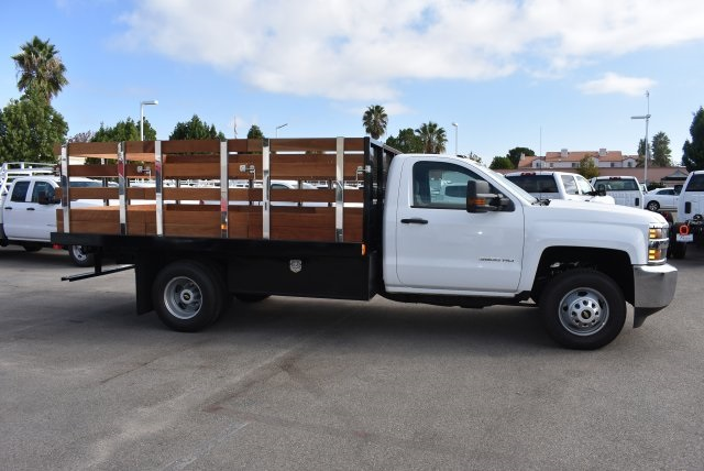 2017 Silverado 3500 Regular Cab, Harbor Platform Body #M17727 - photo 9