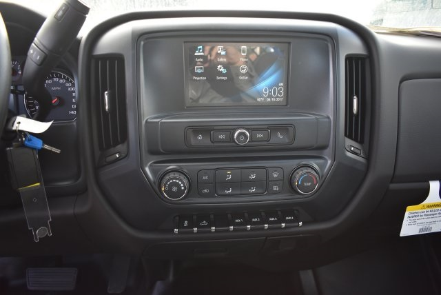 2017 Silverado 3500 Regular Cab DRW, Harbor Black Boss Flatbed Platform Body #M17727 - photo 17