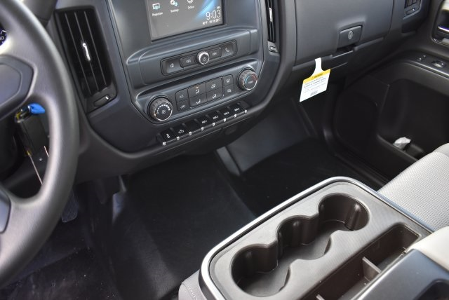 2017 Silverado 3500 Regular Cab DRW, Harbor Black Boss Flatbed Platform Body #M17727 - photo 18
