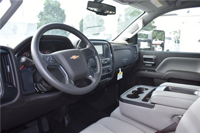 2017 Silverado 3500 Regular Cab DRW, Harbor Black Boss Flatbed Platform Body #M17727 - photo 14