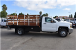 2017 Silverado 3500 Regular Cab DRW, Harbor Black Boss Flatbed Platform Body #M17727 - photo 9