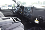 2017 Silverado 3500 Regular Cab DRW, Harbor Black Boss Flatbed Platform Body #M17727 - photo 11
