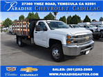 2017 Silverado 3500 Regular Cab, Harbor Platform Body #M17727 - photo 1