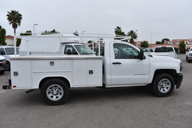 2017 Silverado 1500 Regular Cab, Harbor Utility #M17741 - photo 8