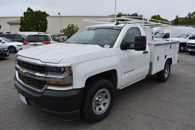 2017 Silverado 1500 Regular Cab, Harbor Utility #M17741 - photo 4