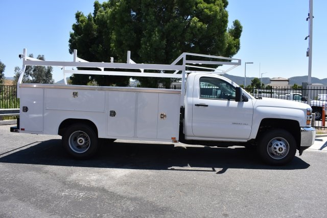 2017 Silverado 3500 Regular Cab DRW, Harbor Utility #M17757 - photo 8