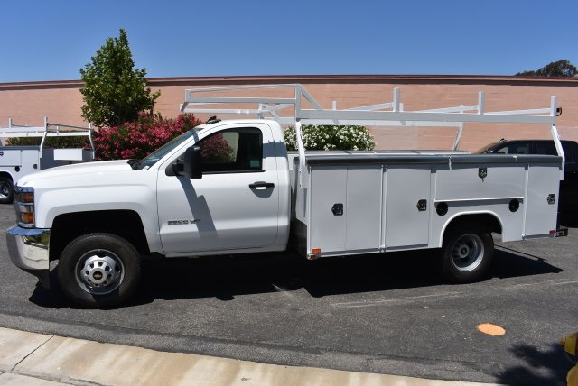 2017 Silverado 3500 Regular Cab DRW, Harbor Utility #M17757 - photo 5