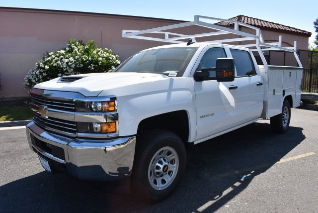 2017 Silverado 3500 Crew Cab 4x4, Harbor Utility #M17775 - photo 4