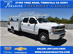 2017 Silverado 3500 Crew Cab 4x4, Harbor Combo Body #M17791 - photo 1