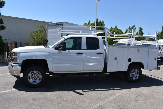 2017 Silverado 2500 Double Cab, Harbor Utility #M17813 - photo 6