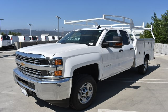 2017 Silverado 2500 Double Cab, Harbor Utility #M17838 - photo 4