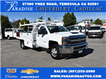 2017 Silverado 3500 Regular Cab, Royal Contractor Body #M17842 - photo 1