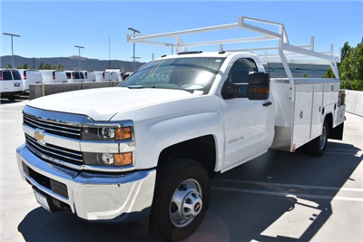 2017 Silverado 3500 Regular Cab, Harbor ComboMaster Combo Body #M17861 - photo 4
