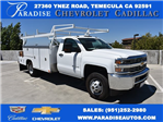 2017 Silverado 3500 Regular Cab, Harbor ComboMaster Combo Body #M17861 - photo 1