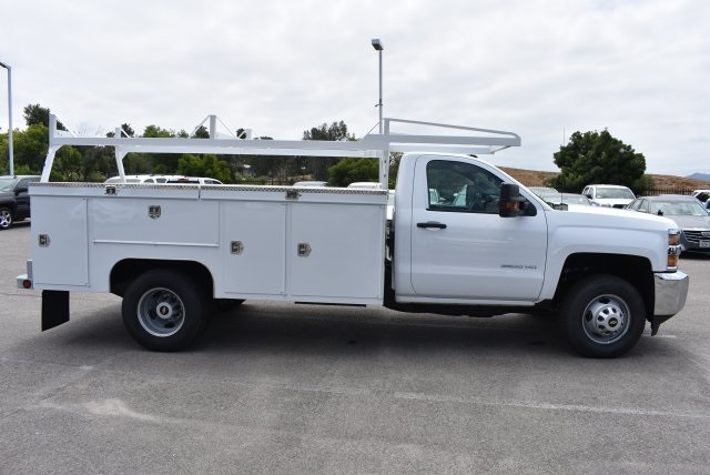 2017 Silverado 3500 Regular Cab DRW, Scelzi Utility #M17881 - photo 9
