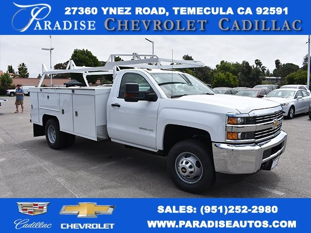 2017 Silverado 3500 Regular Cab DRW, Scelzi Signature Service Utility #M17881 - photo 1