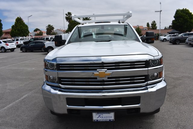 2017 Silverado 3500 Regular Cab DRW, Scelzi Utility #M17881 - photo 4