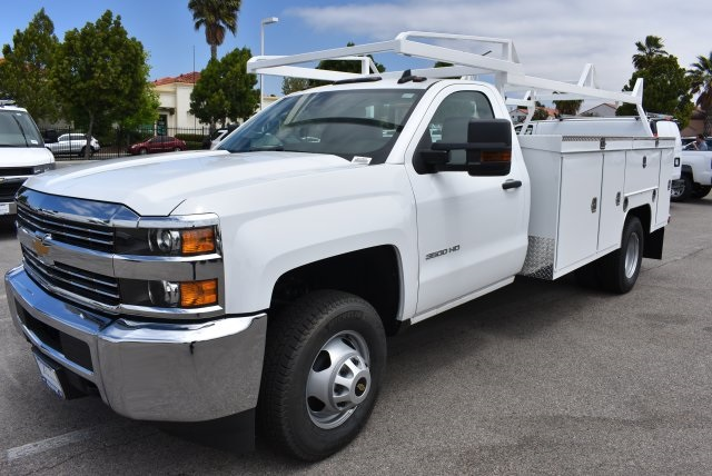 2017 Silverado 3500 Regular Cab DRW, Scelzi Utility #M17881 - photo 5