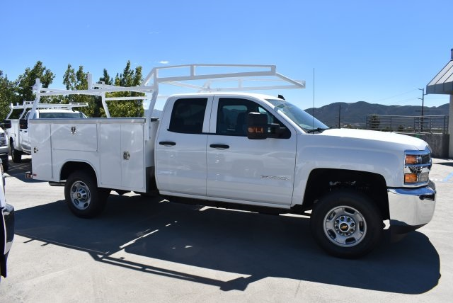 2017 Silverado 2500 Double Cab 4x4, Harbor Utility #M17887 - photo 8