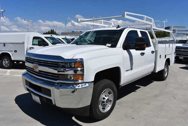 2017 Silverado 2500 Double Cab 4x4, Harbor Utility #M17887 - photo 4