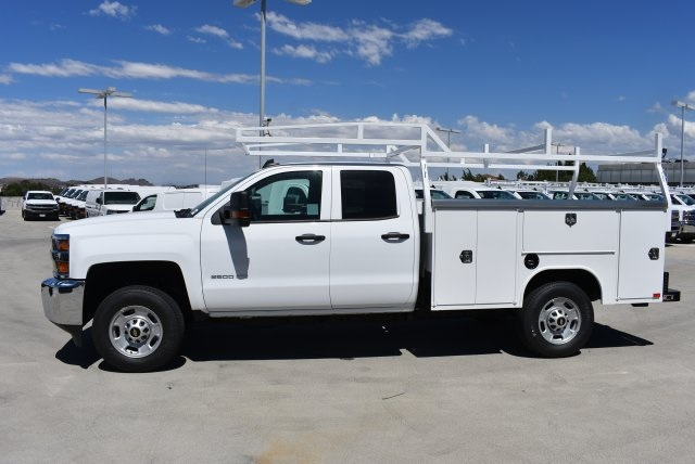 2017 Silverado 2500 Double Cab 4x4, Harbor Utility #M17887 - photo 5