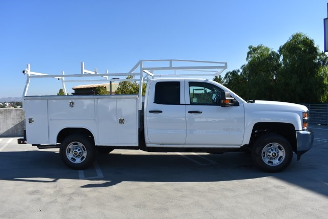 2017 Silverado 2500 Double Cab 4x4, Harbor Utility #M17890 - photo 9