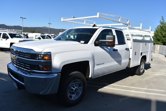2017 Silverado 2500 Double Cab 4x4, Harbor Utility #M17890 - photo 5
