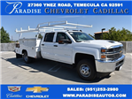 2017 Silverado 3500 Crew Cab 4x4, Harbor Combo Body #M17907 - photo 1