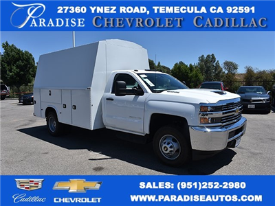 2017 Silverado 3500 Regular Cab DRW 4x2,  Knapheide KUVcc Plumber #M17958 - photo 1