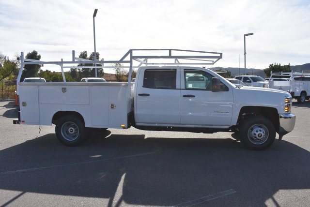 2018 Silverado 3500 Crew Cab DRW, Harbor Utility #M18146 - photo 9