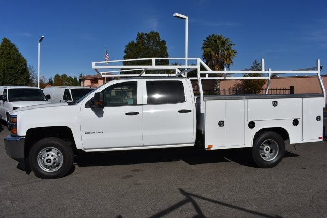 2018 Silverado 3500 Crew Cab DRW, Harbor Utility #M18146 - photo 6