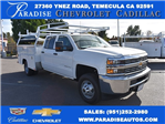 2018 Silverado 3500 Crew Cab DRW, Harbor Utility #M18146 - photo 1