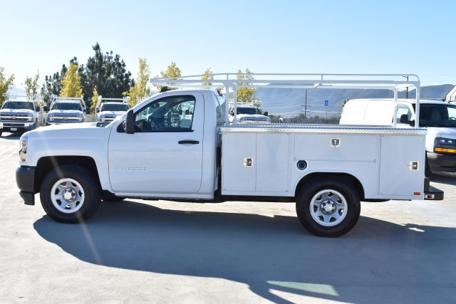 2018 Silverado 1500 Regular Cab 4x2,  Harbor Utility #M181641 - photo 6