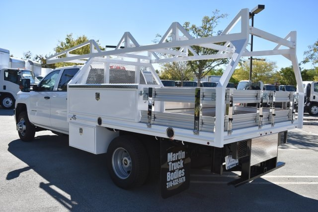 2018 Silverado 3500 Crew Cab DRW 4x2,  Harbor Combo Body #M18171 - photo 6