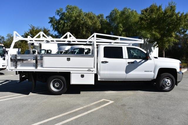 2018 Silverado 3500 Crew Cab DRW 4x2,  Martin Contractor Body #M18171 - photo 7