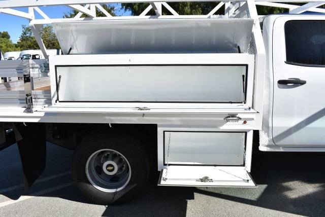 2018 Silverado 3500 Crew Cab DRW 4x2,  Martin's Quality Truck Body Contractor Body #M18171 - photo 8