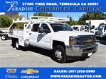 2018 Silverado 3500 Crew Cab DRW 4x2,  Martin Contractor Body #M18171 - photo 1